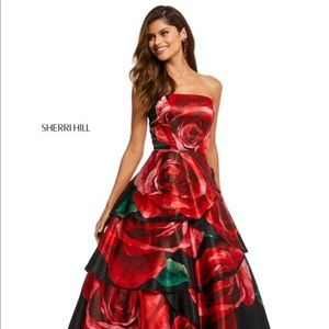 NWT Sherri Hill prom dress
